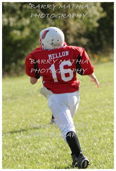 Lawson Cardinals Pop Warner vs Liberty 06 1018