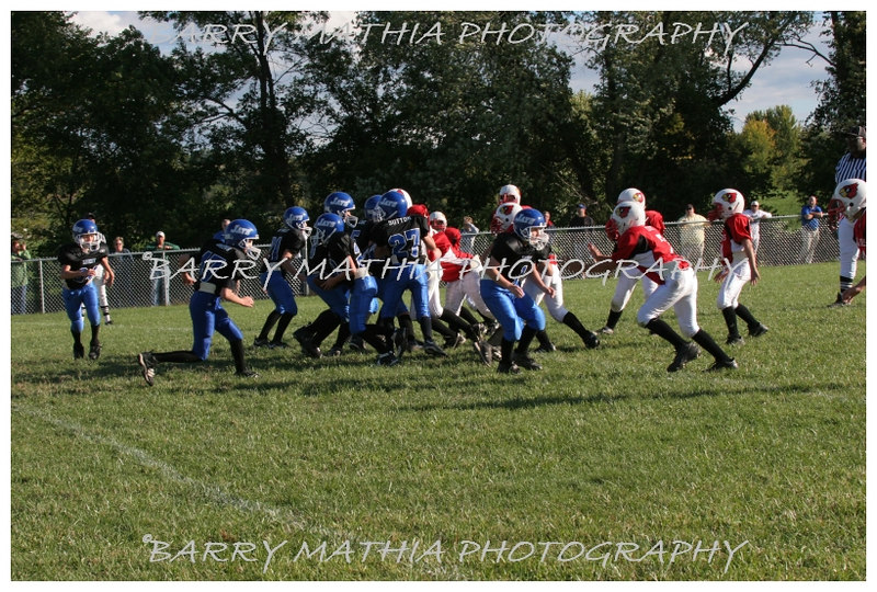 Lawson Cardinals Pop Warner vs Liberty 06 1050