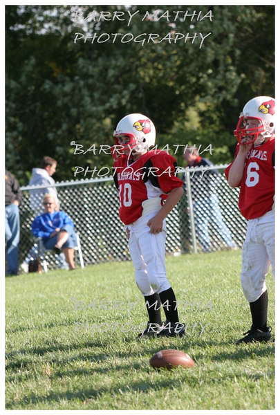 Lawson Cardinals Pop Warner vs Liberty 06 1049