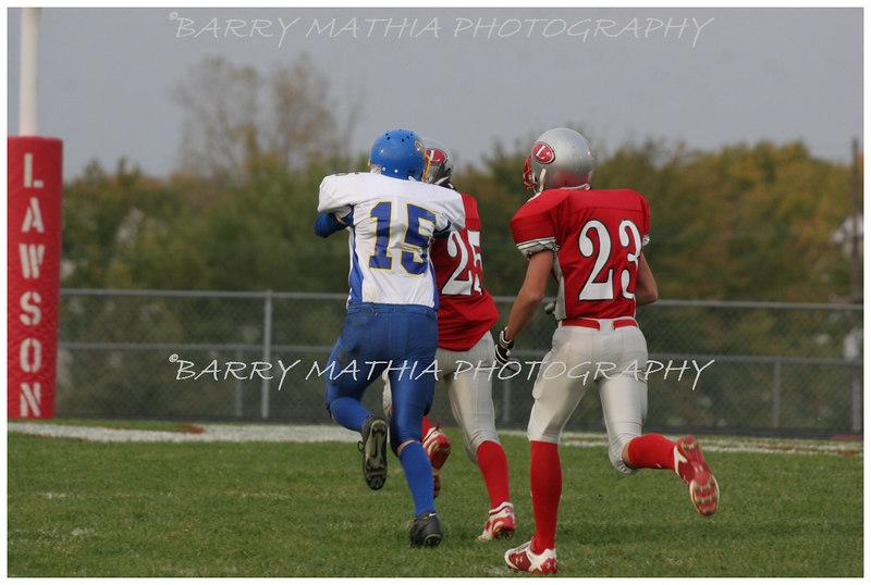 Lawson Football vs East Buc  JV 06 027