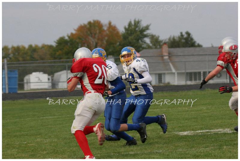 Lawson Football vs East Buc  JV 06 037