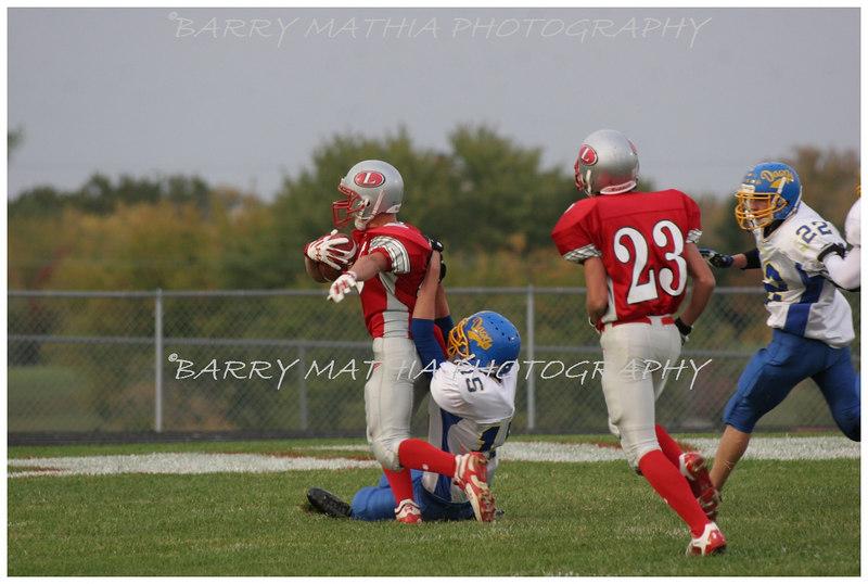 Lawson Football vs East Buc  JV 06 030