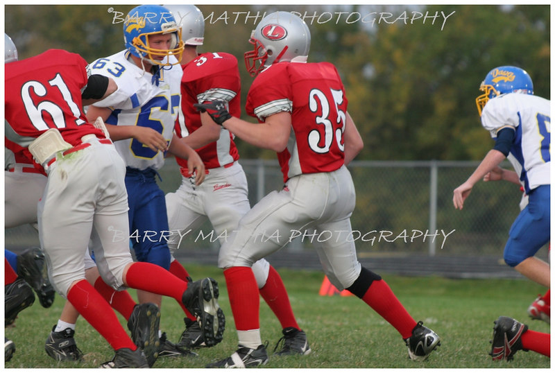 Lawson Football vs East Buc  JV 06 025