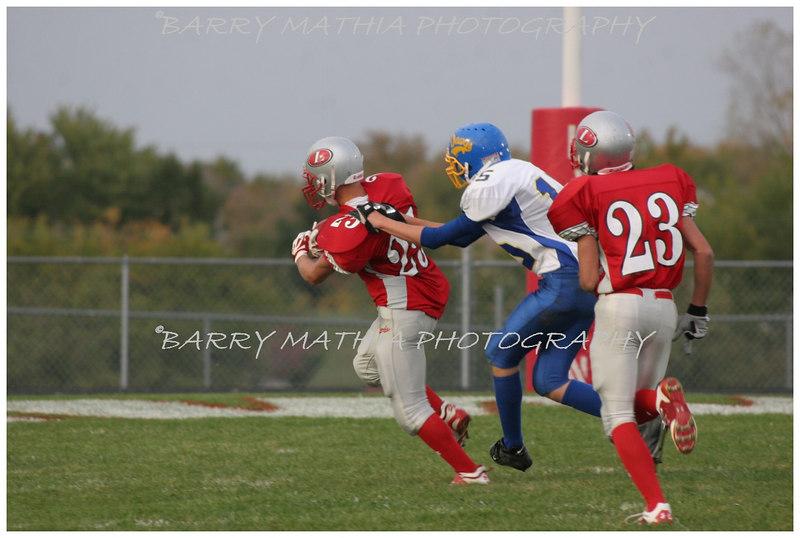 Lawson Football vs East Buc  JV 06 028