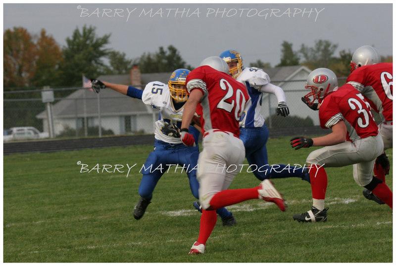 Lawson Football vs East Buc  JV 06 036