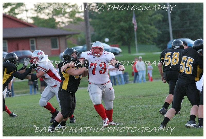 Lawson Football vs Lathrop 06 040
