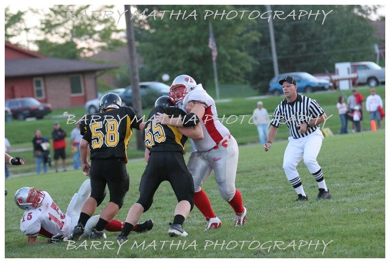 Lawson Football vs Lathrop 06 036