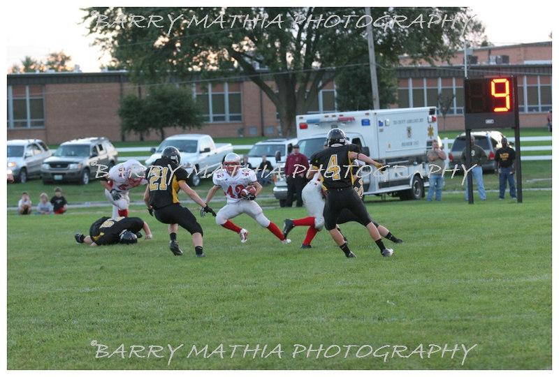 Lawson Football vs Lathrop 06 045