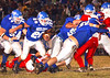 #20, Tyler Parks, has a path cleared by the Gate City offensive line. Photo by Ned Jilton II