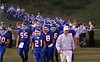 Volunteer's Football team heads to the field to face off against Greenville on friday night.  Photo by Kyle Stinson.