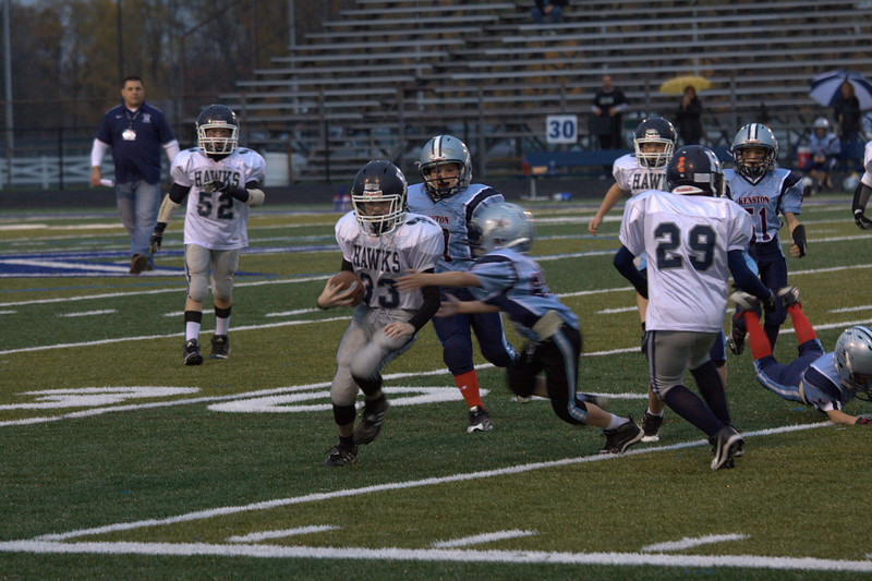 Jack on a first down run