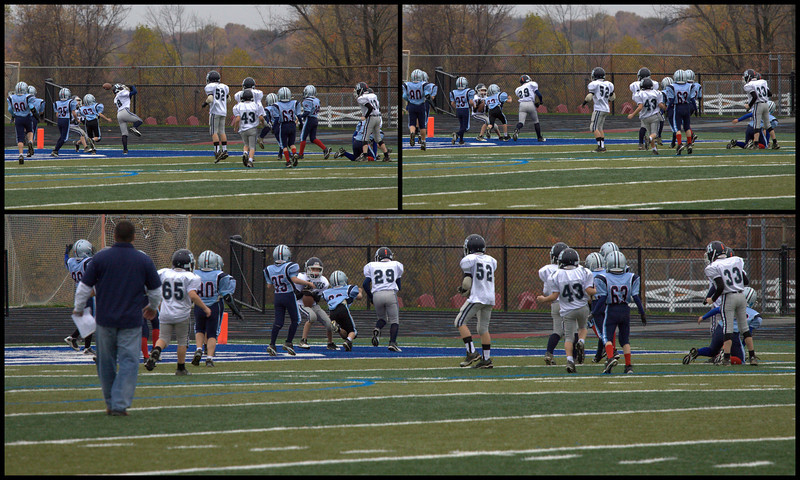 Extra point deflection to Lucas