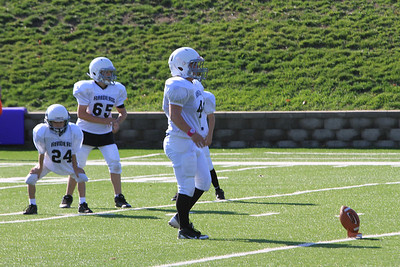 JFL Knoxville Raiders W vs B 10-21-2012