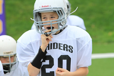 JFL  Raiders W vs Panthers 10-14-2012