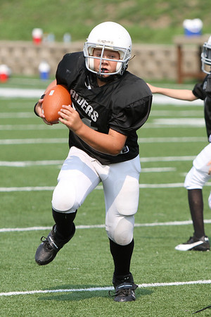 Knoxville Raiders B vs Bears 9-16-2012