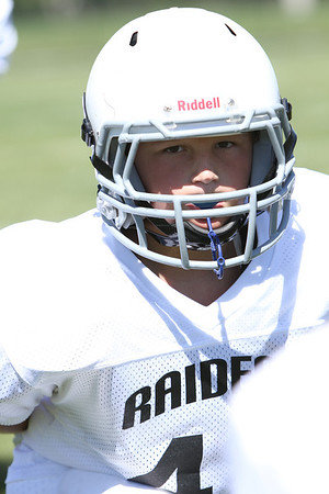 Knoxville raiders W vs B 9-9-2012