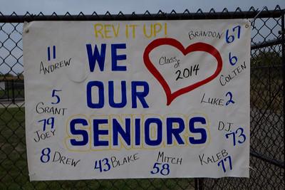 KHS Senior Night 2013