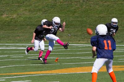 Knoxville Raiders B vs Bears 9-29-2013