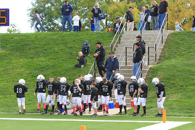 Knoxville Raiders (B) vs Packers 10-20-2013