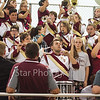 Star Photo/Larry N. Souders<br /> Happy Valley's band strikes up the schools fight song just prior to kickoff against the Ranger's of Unaka Friday night.