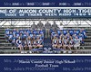 MCJHS 2016 Football Team  8x10