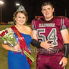 Star Photo/Larry N. Souders<br /> Friday night was Homecoming at Unaka High School. Senior Sarah Hardin was crowned queen during halftime activity. She was escorted by Jacob Rash.