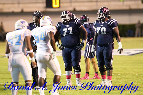 Southern  FB @ J-State 2017