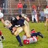 Record-Eagle/Douglas Tesner<br /> <br /> Prep football St Francis vs Benzie Central High School