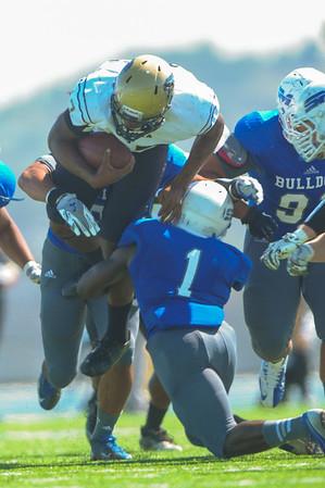 Highlights CSM Bulldogs vs. San Joaquin Delta Mustangs, 2014-09-27
