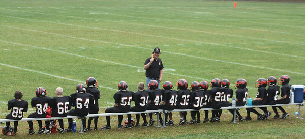 The Keene Knights. Dylan #58 is standing.