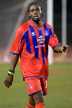 Palace striker, Jamaican, Gary Brooks.