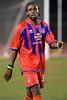 Palace striker, Jamaican, Gary Brooks.