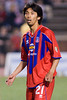 Palace's Japanese center back, Shintaro Harada.