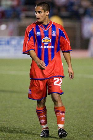 Palace midfielder, Carlos Morales.