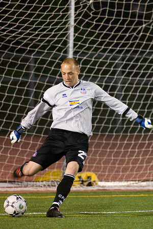 Goalkeeper, Matt Nelson.