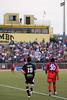 Gary Brooks and Jason Kutney face huge crowd at UMBC Stadium.