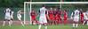Taylor Twellman fires in a free-kick