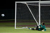 Brian Rowland watches the winning penalty kick for New England
