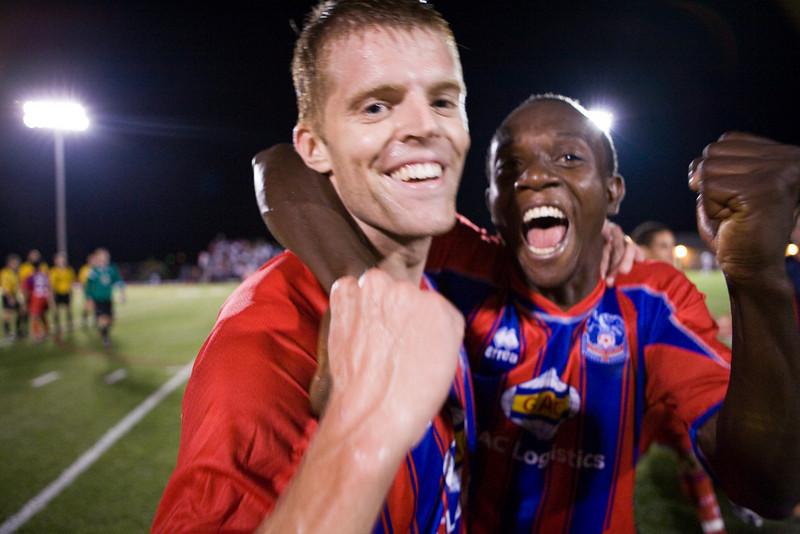 Andrew Marshall and Matthew Mbuta