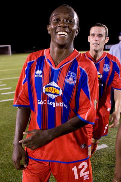 Matthew Mbuta is all smiles