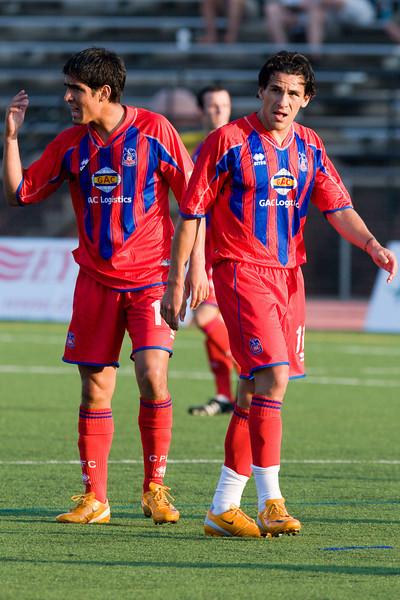 Harold Urquijo and Sergio Flores