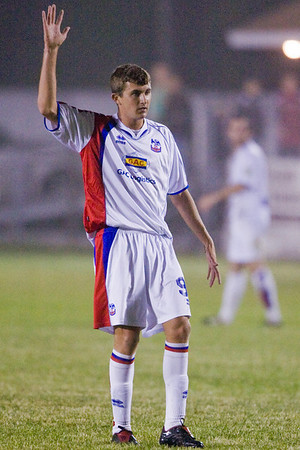 Goalscorer Pat Healey