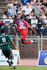 Matthew Mbuta takes off