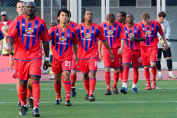 The Palace starting eleven