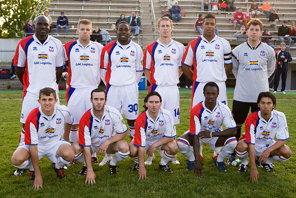 Starting eleven for the game