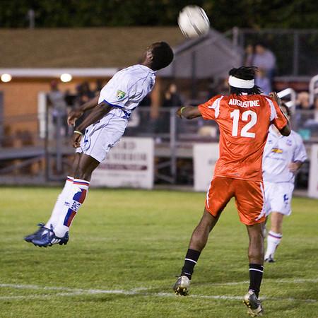 Matthew Mbuta goes airborne again