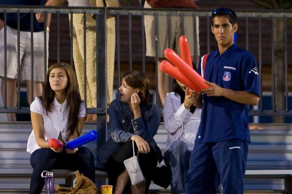 Harold Urquijo in the stands.