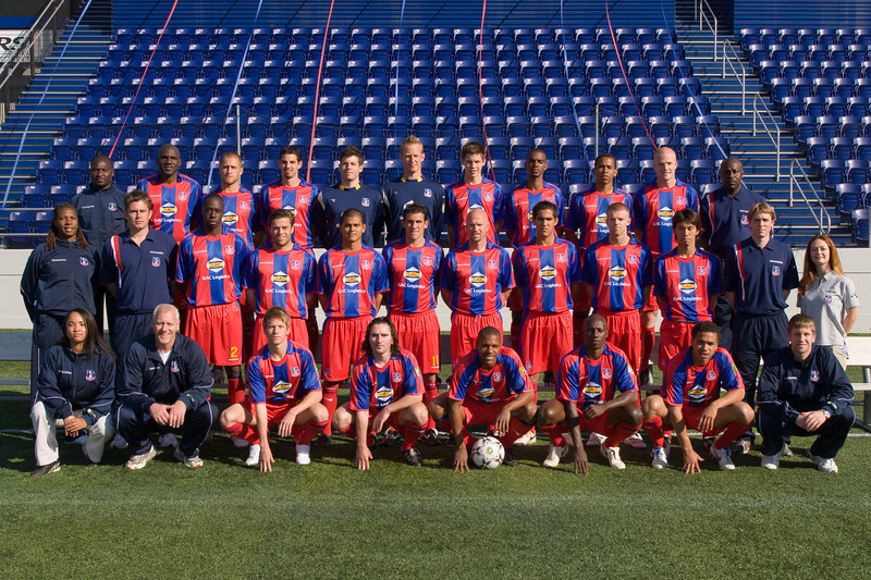 Crystal Palace FC Baltimore - Full Squad and Staff, May 4th 2007