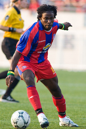 Palace's new Jamaican forward, Gary Brooks, makes his debut.