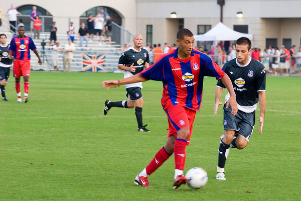 Jay Bothroyd on the attack.